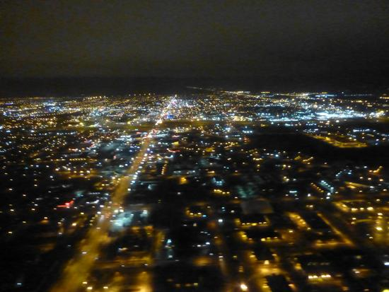 Fargo at night