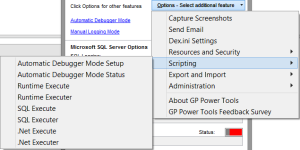 GP Power Tools Options Menu 3
