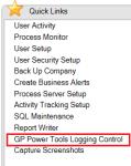GP Power Tools Quick Links