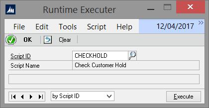 Runtime Executer
