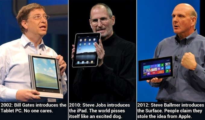 tablet-surface-pc-ipad-steve-ballmer-bill-gates-steve-jobs