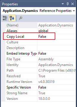 Visual Studio Tools: Best Practice when adding References to