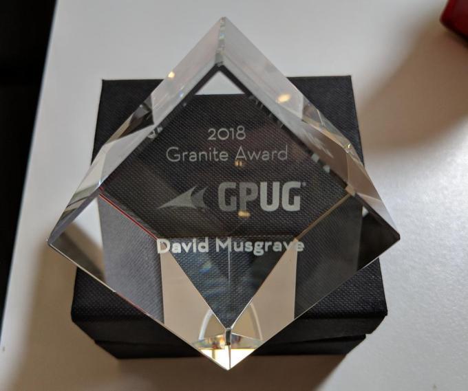 David Musgrave Granit Award
